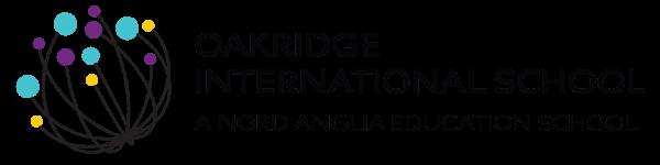Oakridge international school logo