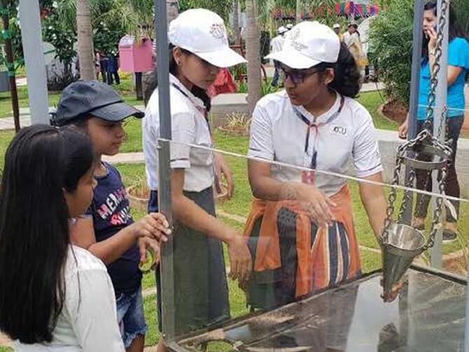 The launch of Visakhapatnam's 1st Oak Science Park at Oakridge International School