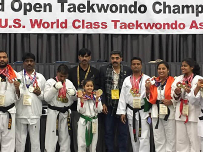 USA World Open Taekwondo Champion At The Age Of 9!