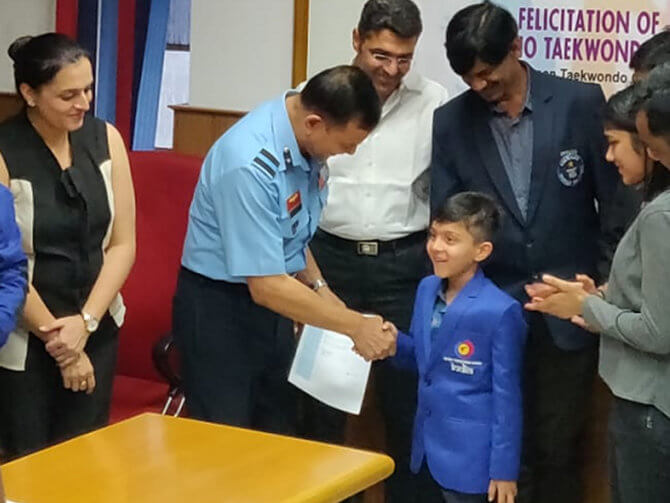 Aashman, the Youngest Guinness World Record holder