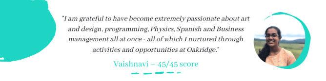 Vaishnavi-45-score